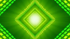 Abstract Green VU meter Background Stock Footage