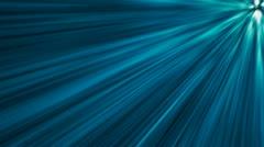 Blue Warped Light beams loop Stock Footage