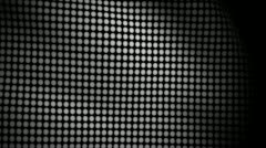 White Flag Dots Waving Texture Stock Footage