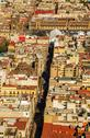 Mexico City Cathedral and Zocalo Stock Photos
