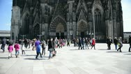 Stock Video Footage of Cologne Cathedral, Germany
