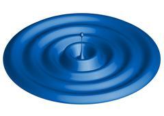 waterdrop - column of water - stock illustration