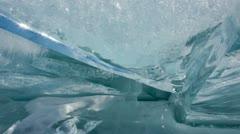 Ice timelapse Stock Footage