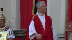 Roman procurator 05 Stock Footage