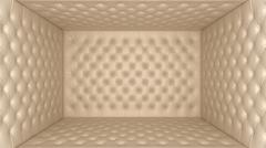 soft room concept - isolation and segregation - stock illustration