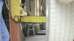 Mechanical Jack-Screw Stock Footage