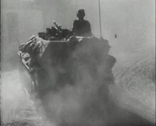 World War 2 - German Soldier March Asia Stock Footage