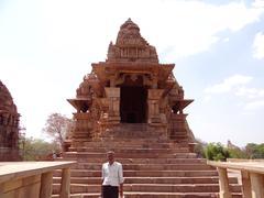 Lakshmana Temple 3 - stock photo