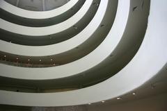Guggenheim spirals Stock Photos