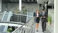 Stock Video Footage of Business partners (PAL)
