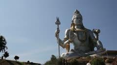 God Shiva in Murudeshwar Stock Footage