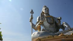 Stock Video Footage of God Shiva in Murudeshwar