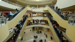 Shopping mall timelapse Stock Footage