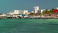 Stock Video Footage of Resort Skyline in Cancun