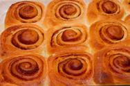 Stock Photo of cinnamon buns
