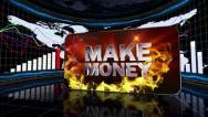11 makemoney red 2 Stock Footage