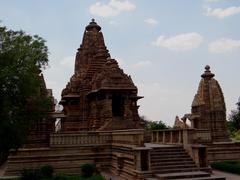 Lakshmana 5 : A UNESCO world heritage site Stock Photos