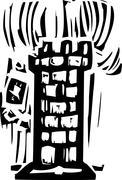 Tower Stock Illustration
