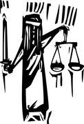 Justice Stock Illustration