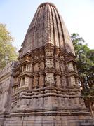 Khajuraho Temple : A UNESCO world heritage site Stock Photos
