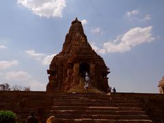 Kandariya : A UNESCO world heritage site Stock Photos