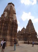 Jagdambi Temple : A UNESCO world heritage site - stock photo