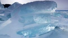 IceScapes 7 4K Stock Footage