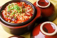 Chinese food-beef noodles soup Stock Photos