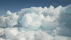 IceScapes 10 4K Stock Footage