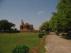 Kandariya Mahadev Temple : A UNESCO world heritage site Stock Photos