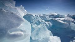 IceScapes 14 4K Stock Footage