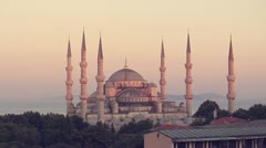 Stock Video Footage of Istanbul at sunset