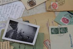 Old family foto Stock Photos