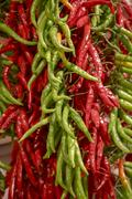 chilli pepers - stock photo