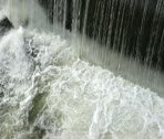 Stock Video Footage of Waterfall Long Pan