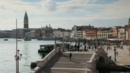 Stock Video Footage of Riva degli Schiavoni, Venice, Italy