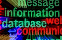 database concept - stock photo
