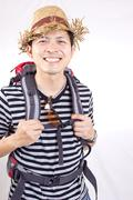 asian traveller concept - stock photo