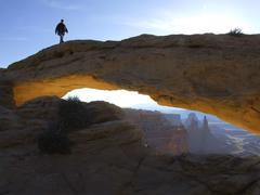 Mesa arch, canyonlands national park, utah, usa Stock Photos