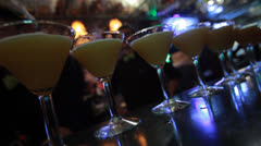 Cocktails 2 Stock Footage