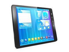 Luoda mobiilisovelluksia Tablet PC. Piirros
