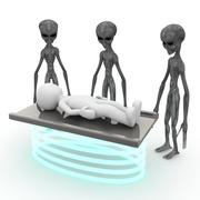 Extraterrestrial beings Stock Illustration