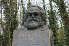 The tomb of Karl Marx - stock photo