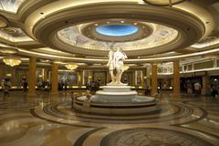 las vegas - Caesars palace reception - stock photo