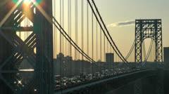 GW Bridge 2 - stock footage