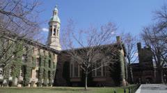 Nassau Hall, Princeton Stock Footage
