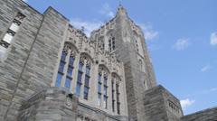 Firestone library, Princeton Stock Footage