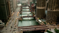 Time Lapse overview of Chicago -  4K - 4096x2304 Stock Footage