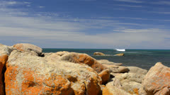 Rocks at bunker bay, western australia Stock Footage