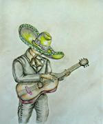 Mariachi Stock Illustration